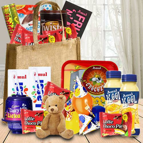 Exclusive Birthday Chocolates Hamper for Kids