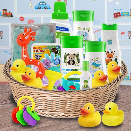 Wonderful Gift Hamper for New Babies