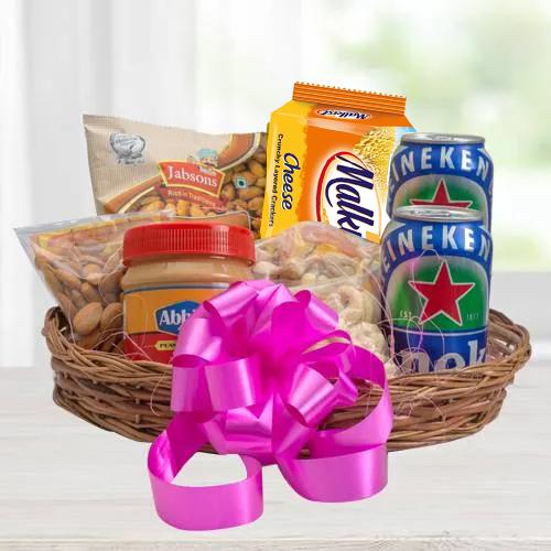Marvelous Gourmet Basket Hamper