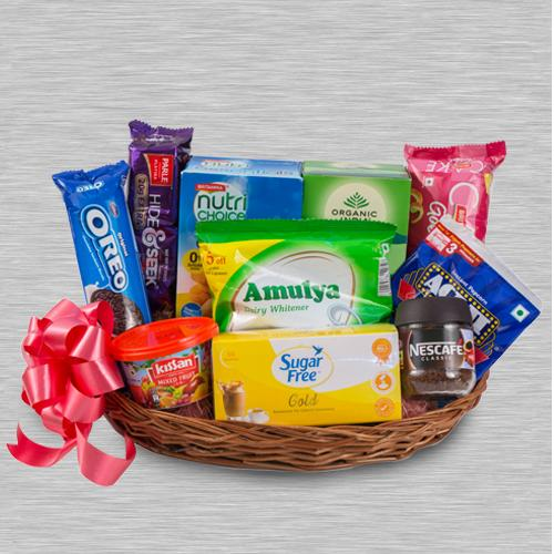 Luxurious Tea Time Gift Hamper for Family