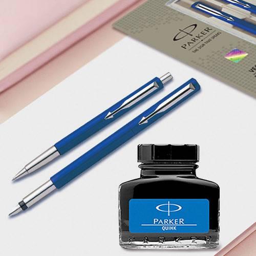 Fabulous Parker Pen n Ink Set