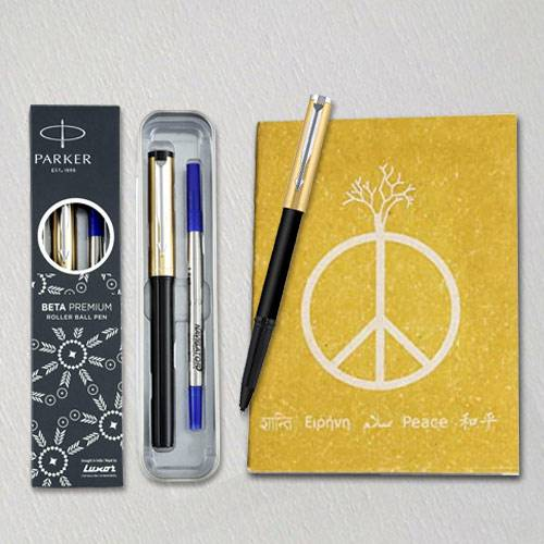 Fantastic Parker Ball Pen with Eco Friendly Dairy