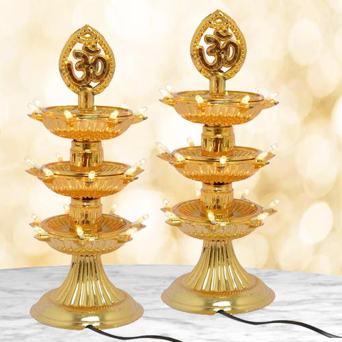 Wonderful Dual LED Bulb Lights Diya