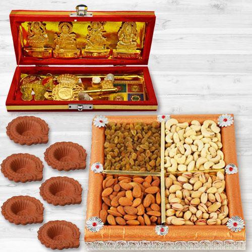Amazing Dhan Laxmi N Kuber Bhandari Yantra Combo Gift