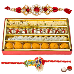 Delectable Gift of Aperitive Sweets from Haldirams