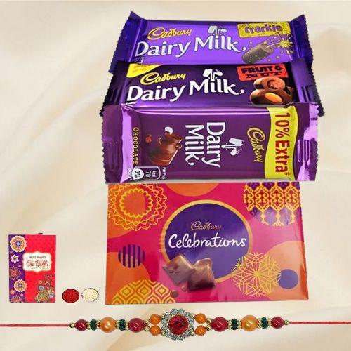 Assorted Cadbury Chocolate Pack with a Cadbury Celebration Gift Pack