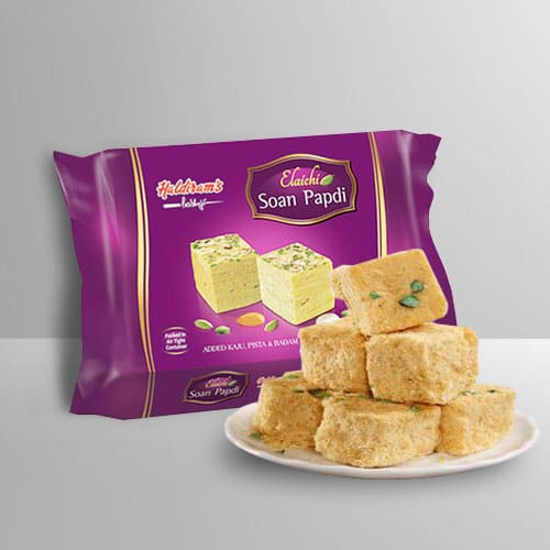 Yummy Soan Papdi from Haldirams