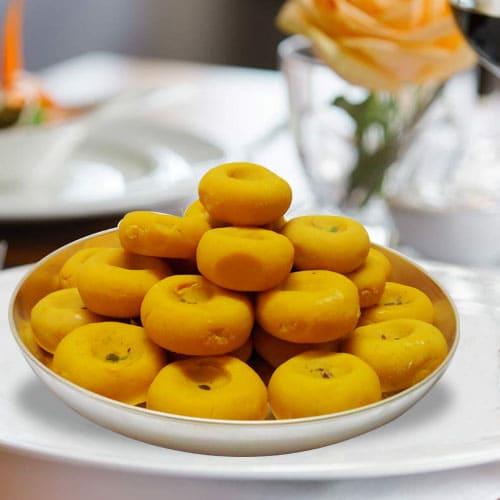 Yummy Kesaria Pedas from Haldirams