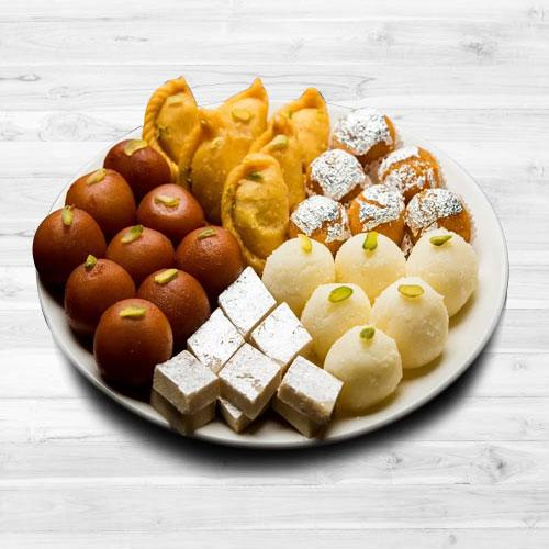 Mouth-Watering Assorted Sweets from Bhikaram