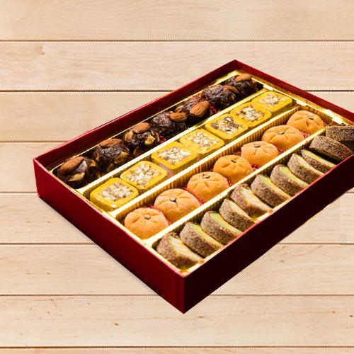 Luscious Assorted Premium Sweet Box (1kg)