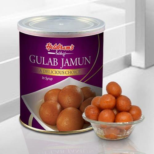 Yummy Haldirams Gulab Jamun