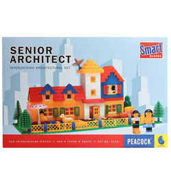 Marvelous Architect Game of interlocking Architectural Set