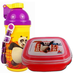 Elegant School Time Kung Fu Panda Tiffin Set