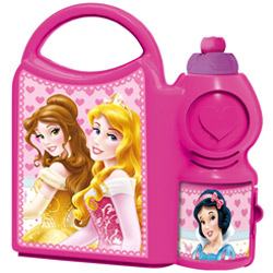 Superb Disney Princess Tiffin Set for School Going Kids