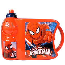 Classy School Time Spider Man Tiffin Set