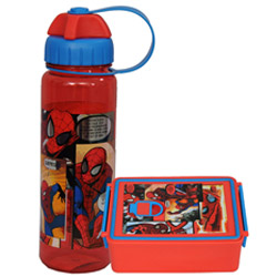Superb School Time Spider Man Tiffin Set