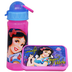 Breathtaking Lunch Break Disney Snow White Pattern Tiffin Set