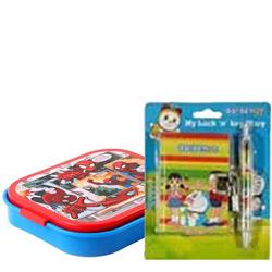 Smart Looking Doraemon Designed Stationery Set