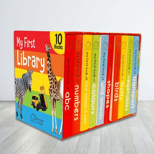 My First Library Books Boxset for Kids