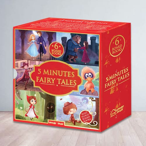 Bookset for Kids - 5 Minutes Fairy Tales