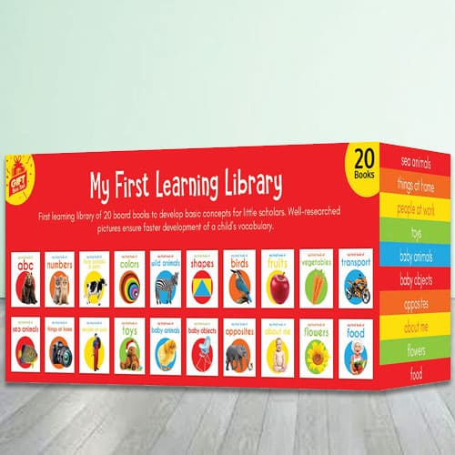 Books Boxset for Kids - My First Learning Library (20 books)