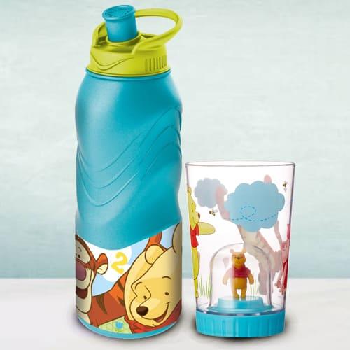 Lovely Disney Winnie the Pooh Bottle N Tumbler Combo