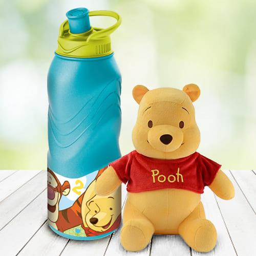 Impressive Disney Winnie The Pooh Tumbler N Teddy Combo