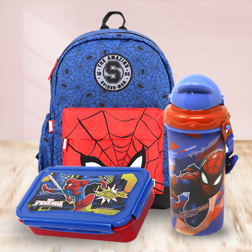 Amusing Marvel Avenger Spiderman Back to School Mini Combo