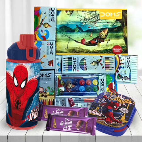 Lovely Spiderman Kids Gift Combo