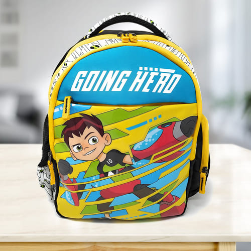 Amusing Ben 10 School Backpack for Kids