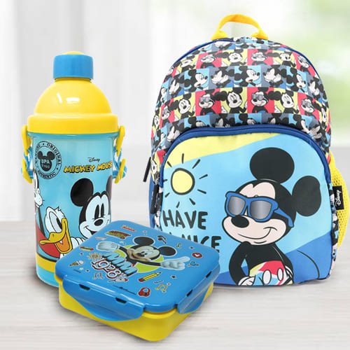 Exclusive Mickey School Hamper for Kids
