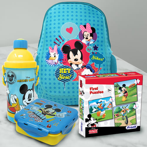 Impressive Disney Mickey Mouse Fun Hamper for Kids