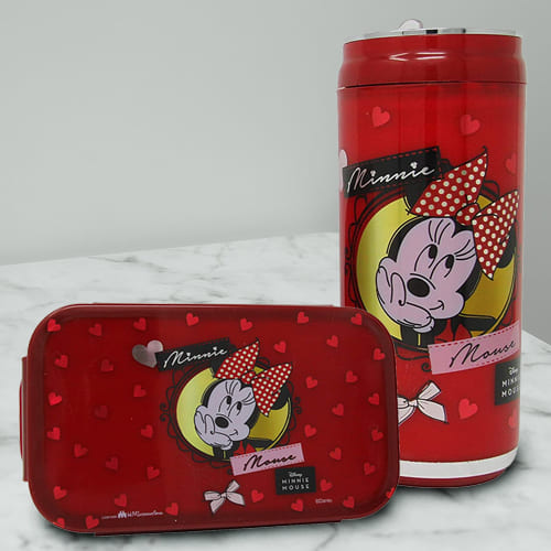 Marvelous Minnie Mouse Lunch Box n Sipper Bottle