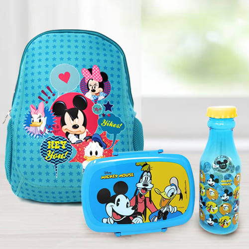 Attractive Back To School Mickey Mouse Gift Combo