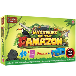 Beautiful Madzzle Mysteries of the Amazon by Mad Rat Games