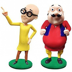 Remarkable Motu Patlu Toy Set