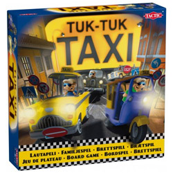 Marvelous Tuk Tuk Taxi Toy Set