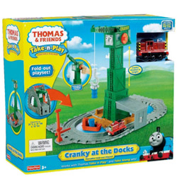 Entertaining Fisher-Price Thomas the Train Take-n-Play Set