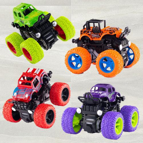Amazing Monster Truck Pull Back Car for Toddlers