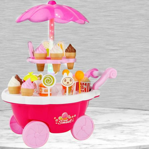 Amazing Ice Cream Trolley Play Set