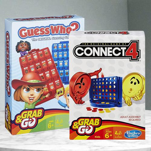Exciting Connect 4 N Guess Who Game from Hasbro