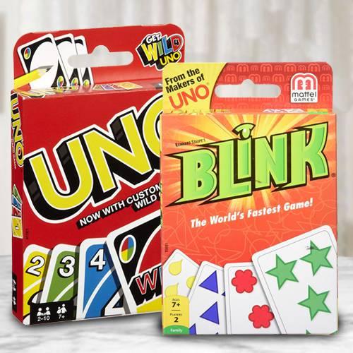 Wonderful Mattel Uno N Reinhards Staupes Blink Card Game