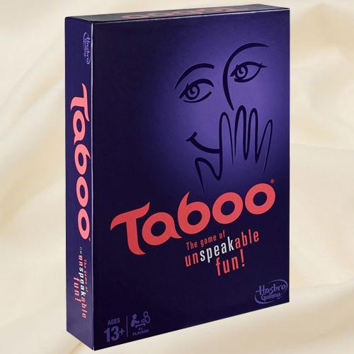 Amazing Hasbro Gaming Taboo Board Game