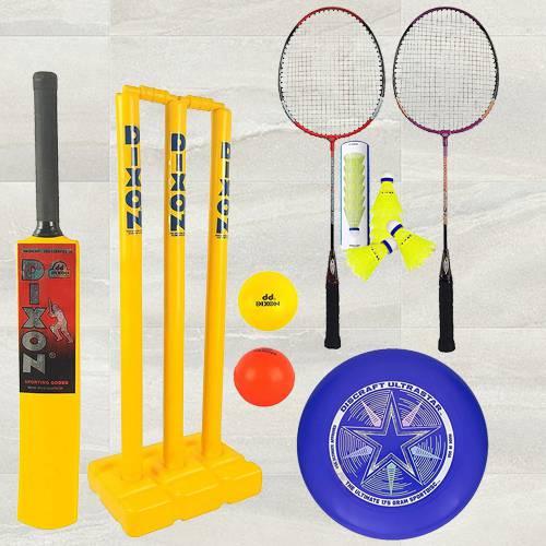 Amazing Toyshine 3 in 1 Mega Sports Combo