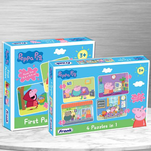 Remarkable Set of 2 Puzzles for Kids