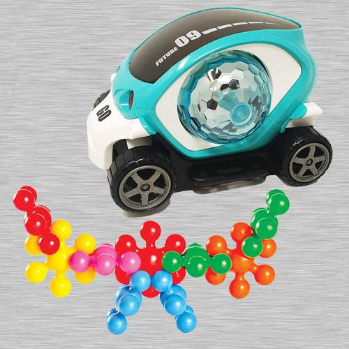 Remarkable 360 Degree Rotating Stunt Car N Funskool Kiddy Star Links