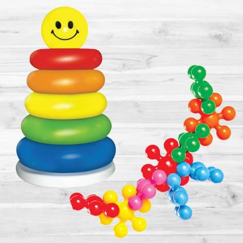 Exciting Funskool Kiddy Star Links N Junior Ring