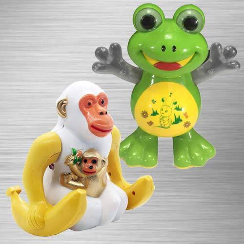 Outstanding Dancing Frog N Webby Funny Orangutan