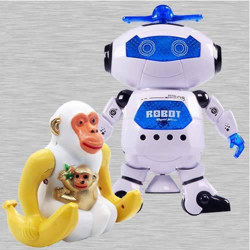 Outstanding Dancing Robot N Webby Funny Orangutan