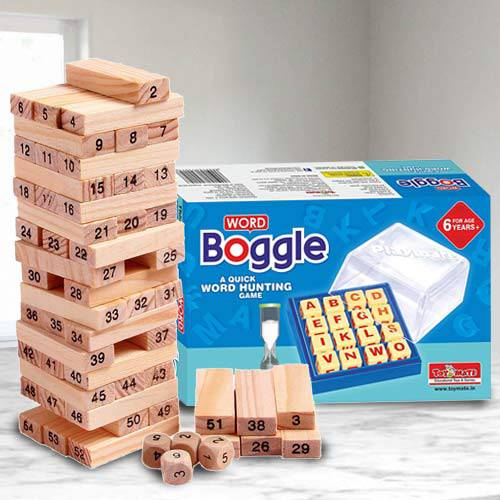 Wonderful Indoor Games Set for Kids